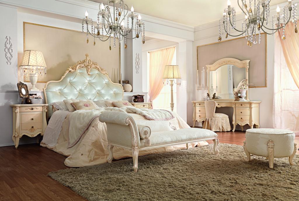 Королевские спальни фото